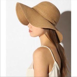 PINS N NEEDLESS straw floppy hat